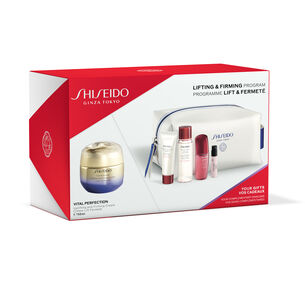 Lifting & Firming Program Pouch Set - Uplifting And Firming Cream - SHISEIDO, Nieuw